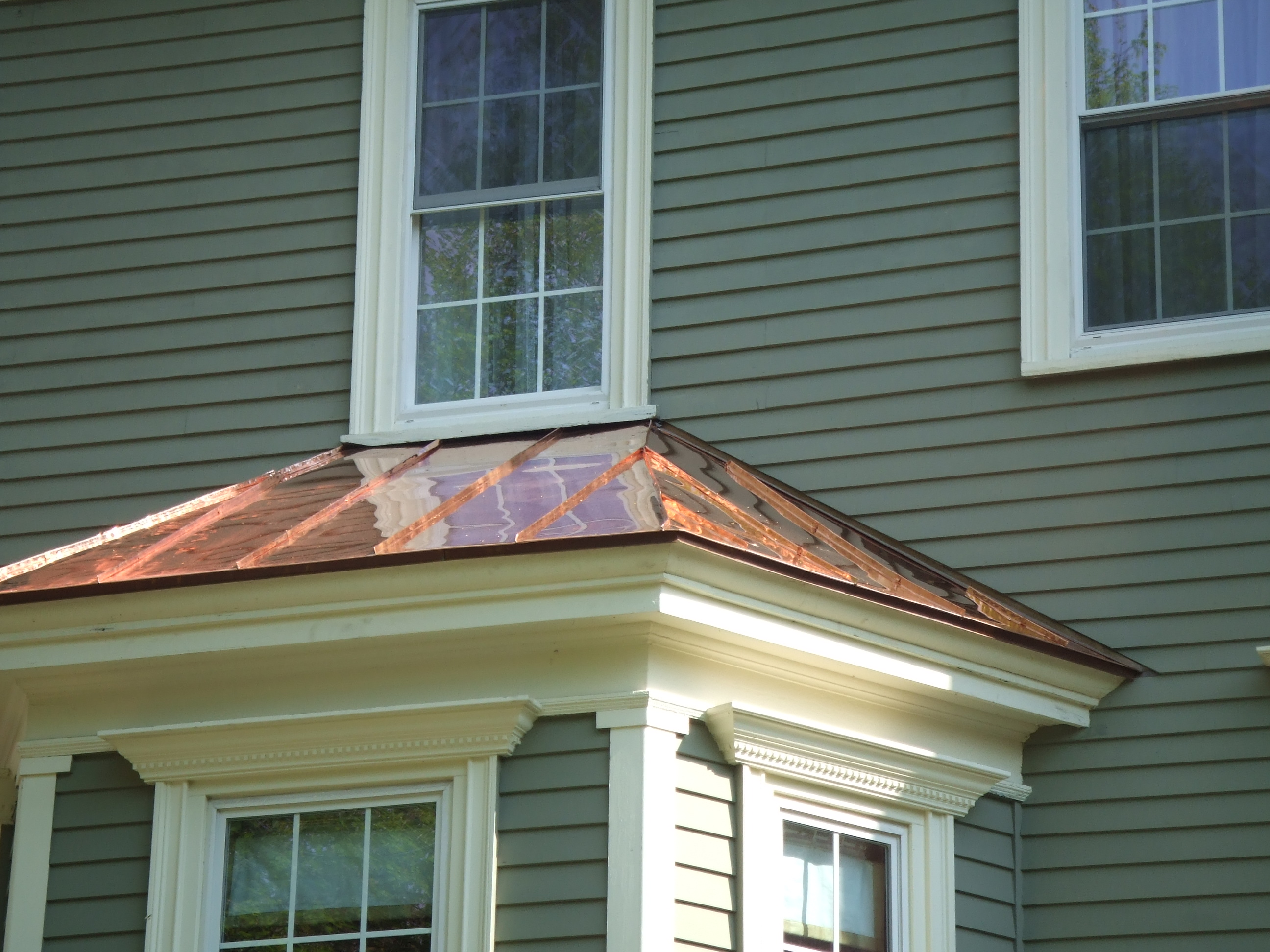 Elegant Boston Copperworks Copper Roofing Installation
