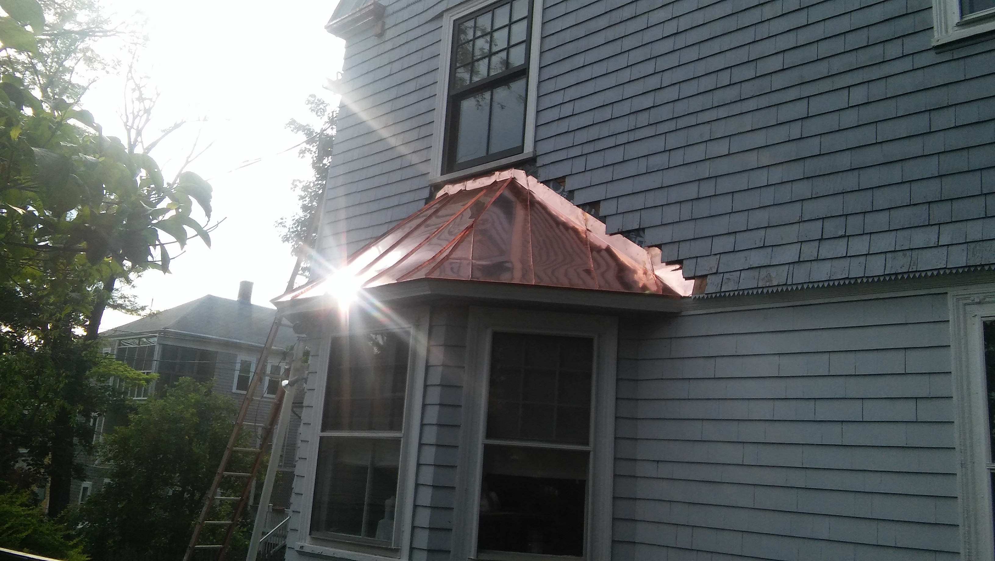 Boston Copperworks Copper Roofing Installation